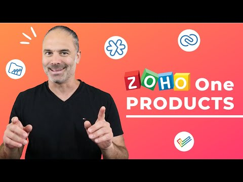ZOHO ONE products in your day to day business operations