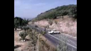 Accidente de un Porsche de Carrera Panamericana 2012