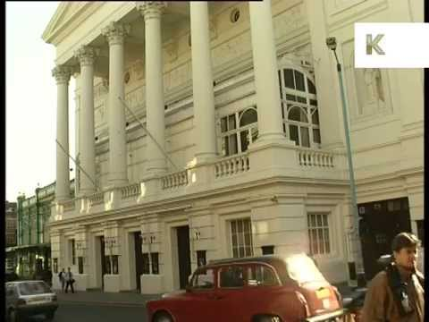 1990s Royal Opera House, Covent Garden, London, Archive Footage