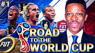 THE BEGINNING!! FRANCE ROAD TO THE WORLD CUP #1 - FIFA 18
