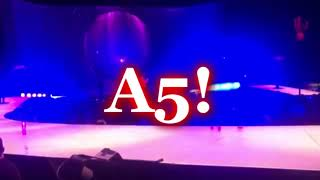 ARIANA GRANDE HITS NEW SUSTAINED A5 BELT IN NO TEARS LEFT TO CRY LIVE IN SHEFFIELD!  [C4-A5!]