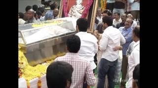 Venkatesh, Mahesh Babu, Pawan Kalyan, NTR pay homage to ANR - idlebrain.com