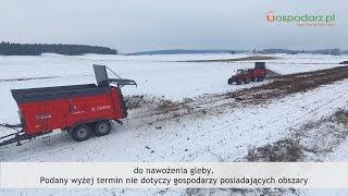 ☕ Tydzień Gospodarza 22 listopada 2016 - niższy podatek rolny w 2017