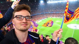 FC Barcelona - FC Chelsea | Champions League Stadionvlog | MESSI SHOW + ERSTES DEMBELE TOR