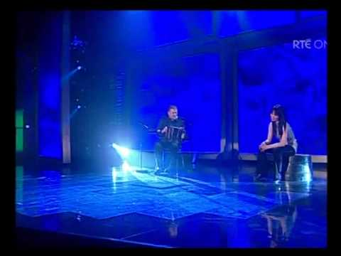Emma O Sullivan & John O Halloran on the  All Ireland Talent Show.