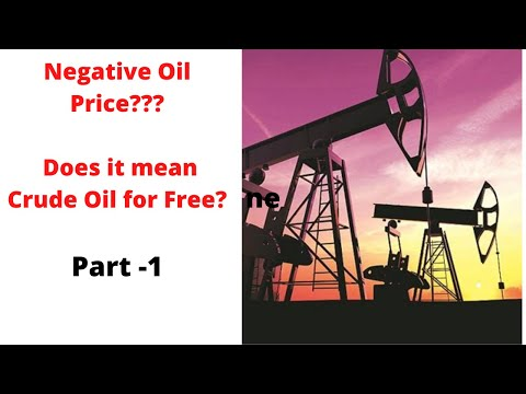 WTI Crude Below Zero, Was it a real reflection of market! Trader's Insight.