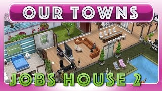 Sims Freeplay - Steve Jobs House In Sims Landing (original House Design)