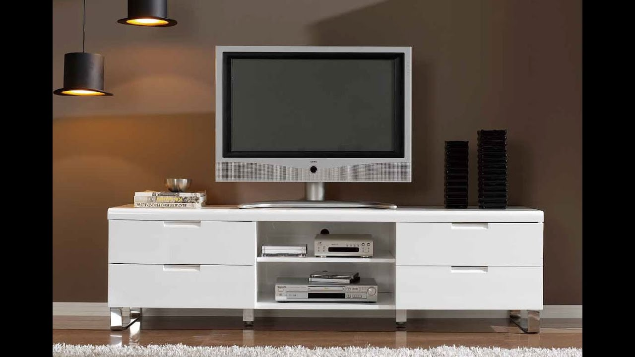 modern tv stands for flat screens  youtube - modern tv stands for flat screens