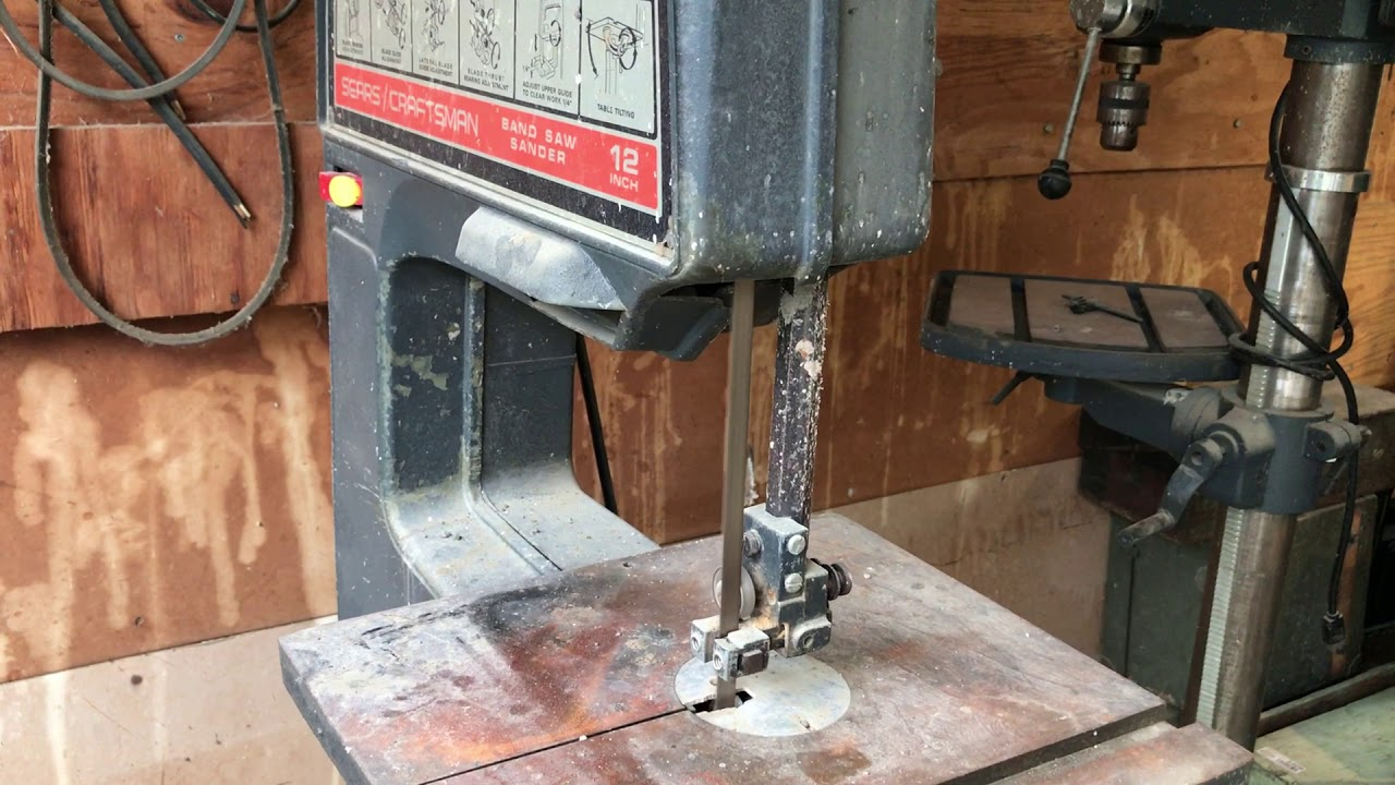 12 Craftsman Band Saw Sander
