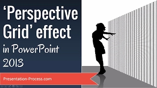 Perspective Grid Effect in PowerPoint 2013