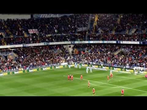 Gol de Duda: Malaga 1 - Sevilla 0. 01/02/2014