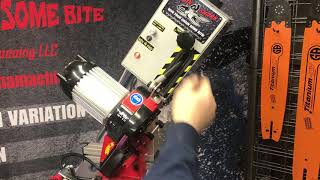 GRINDING DEPTH GAUGES WITH THE CHAIN SHARK