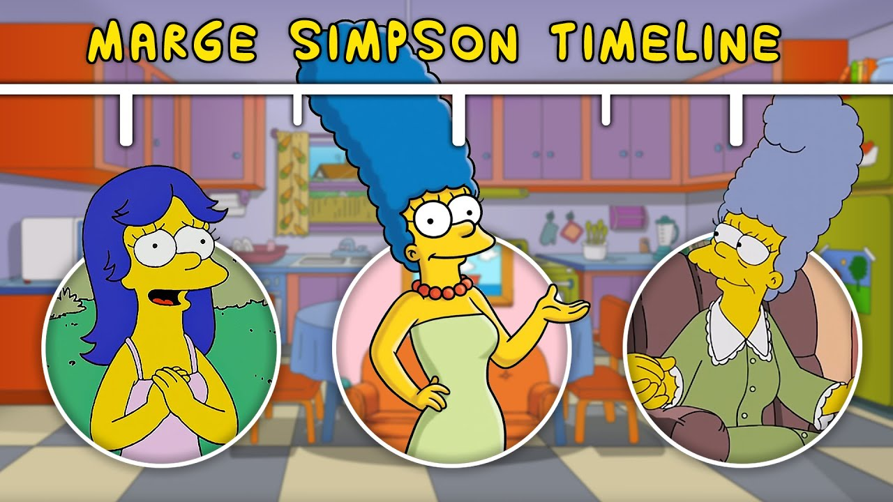 Download The Complete Marge Simpson Timeline [+ Face Reveal]