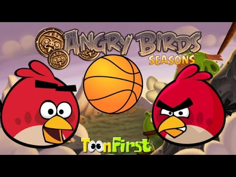 Angry Birds Basketball