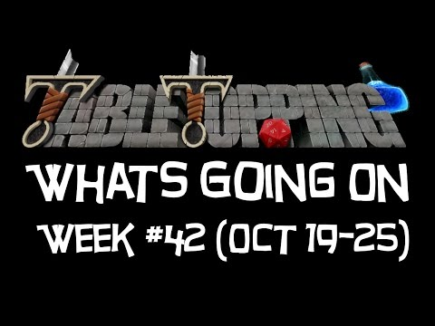 This Week In Table Topping, Week #42, (Oct 19-25), (D&D 5e, Fantasy Grounds, Pathfinder)