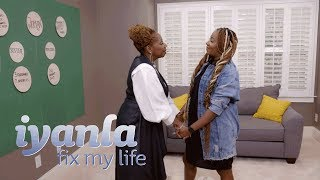 Iyanla Gets Real with Le'Andria Johnson About the Root of Her Troubles | Iyanla: Fix My Life | OWN
