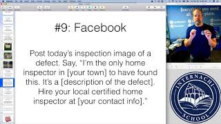 Home Inspection Tip #59:  What should a home inspector post on Facebook?