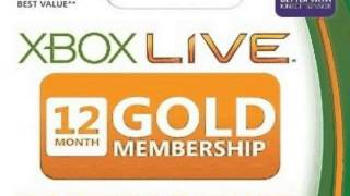 Xbox LIVE 12 Month Gold Membership Online Game Codes ☢☣☠
