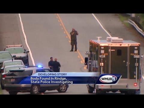 Investigators search area where body was found in Rindge