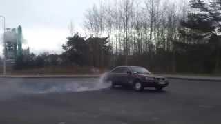 Audi 100 S4 2.2 Turbo Quattro(Okolice Mrągowa., 2012-11-25T18:05:50.000Z)