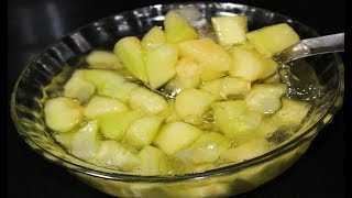 बन गस क बनए खरबज क सवदषट पन  Kharbuja pana Recipe