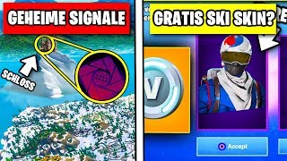 SECRET Message in the Iceberg 🏔️❄️ Free Korea Ski Skin? Addendum | Fortnite German German