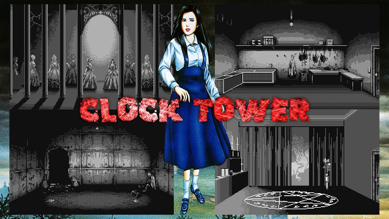 [Análise Retro Game] - Clock Tower The First Fear - SNES/PS1/WS Maxresdefault