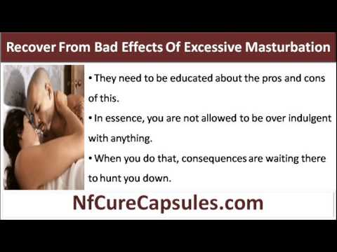 negative side effects of masturbation