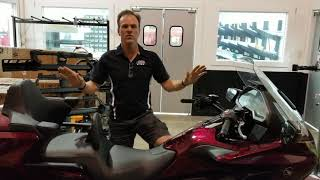How To Lower, Lowering The Honda Gold Wing Correctly