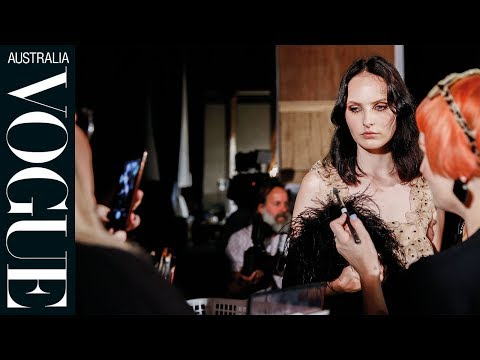 Behind-the-scenes Beauty At Alice McCall