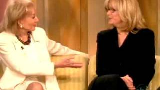 Bonnie Hunt's Awkward Exchange With Barbara Walters
