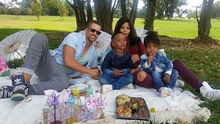 Top Billing visits Kelly Khumalo and her children