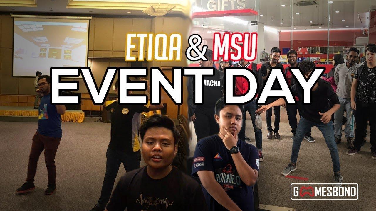 Etiqa And Msu Event Day Vlog Bahasa Malaysia Youtube