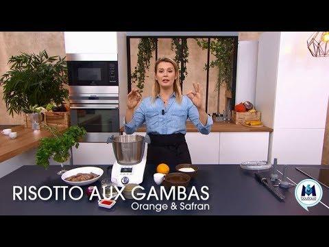 recette-du-risotto-aux-gambas-avec-le-compact-cook-elite