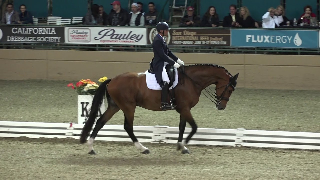 Suppenkasper & Steffen Peters - FEI CDI-W Grand Prix Freestyle - Evening of Musical Freestyles 2018