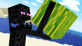 Minecraft Mobs if they Could EAT Blocks