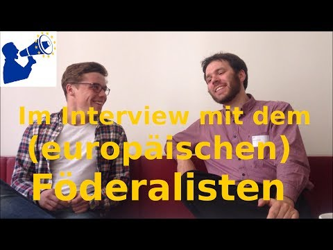 Ein deutsch-französischer Motor wird nicht reichen - Interview mit Europablogger Manuel Müller