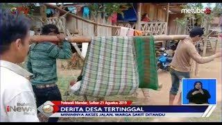 MIRIS! Minim Akses Jalan, Warga Sakit Ditandu di Polewali Mandar - BIS 22/08