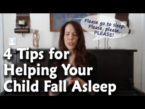 4 Tips for Helping Your Child Fall Asleep