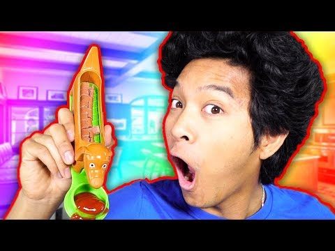 Testing Kitchen CRAZY Gadgets!!!