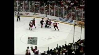 McCarty Goal 1997 Finals, Game 4 with local (WJR) radio call (Bruce Martyn)