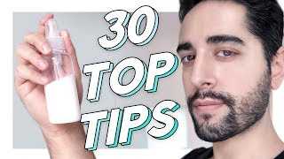 30 SKIN CARE TIPS / HACKS From A 30 Year Old ✖  James Welsh