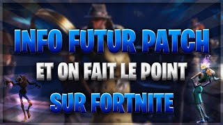 INFO FUTUR PATCH - A POINT ON FORTNITE INFO FUTUR GIVEAWAY - FORTNITE SAUVER THE WORLD