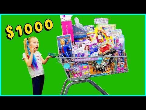 Shopping Cart Full Of Toys