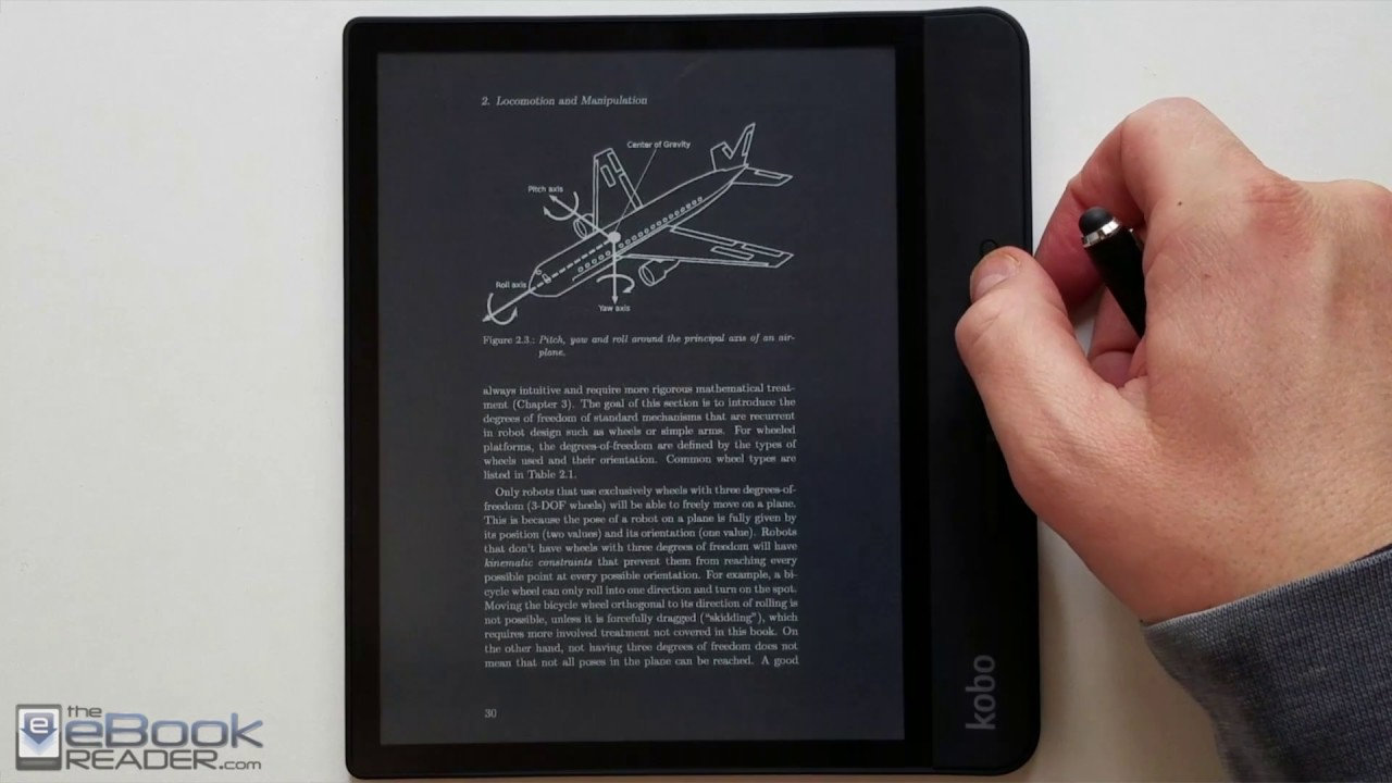 Kobo Forma PDF Review - 8
