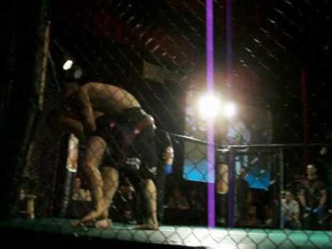James Benson vs. Mike Leblanc caged aggresion 2