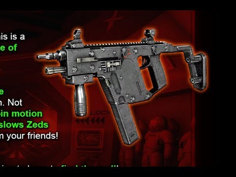 Killing floor new weapons kriss vector super v for Floor 2 swordburst 2
