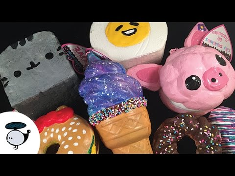 Silly Squishies Squishy Collection : DIY Deco Squishies from Silly Squishies - DLYak Video