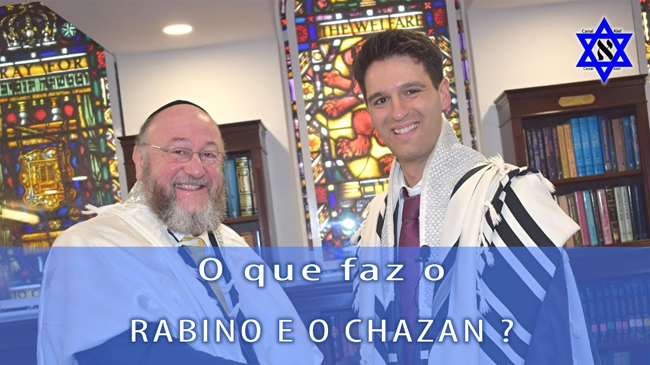 O que faz um Rabino e um Razan na Sinagoga?? - Canal Alef