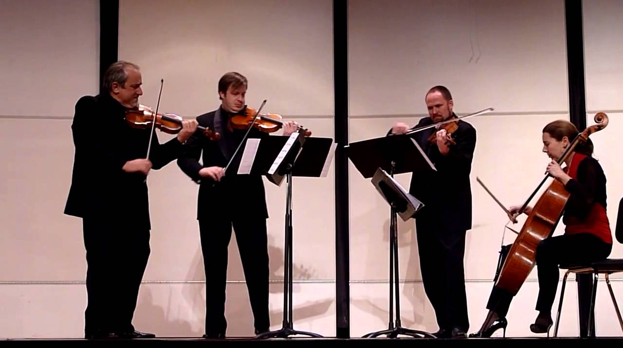 Libertango by Astor Piazzolla (Quartet San Francisco)